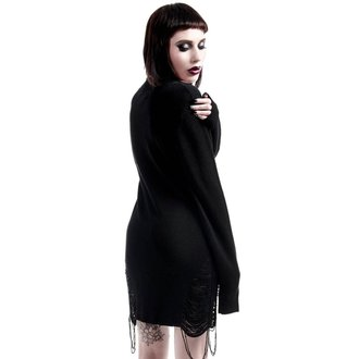 maglione da donna KILLSTAR - Hell In Harlow Distress Knit - Nero, KILLSTAR