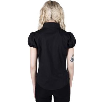 Camicia da donna KILLSTAR - Hellstar Lace-Up - Nero, KILLSTAR