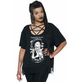 Maglietta da donna KILLSTAR - Esadecimale Pentagram - Nero, KILLSTAR