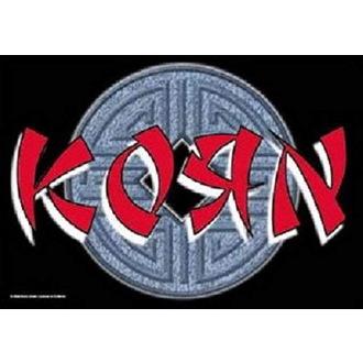 Bandiera Korn - Ball Logo, HEART ROCK, Korn