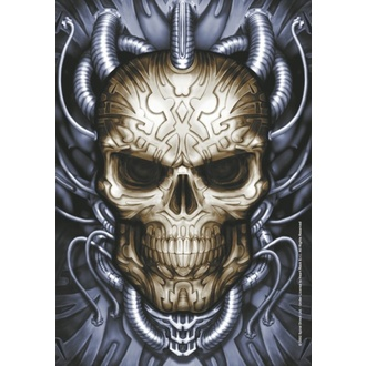 Bandiera Spiral Collezione - Plugged Skull, SPIRAL