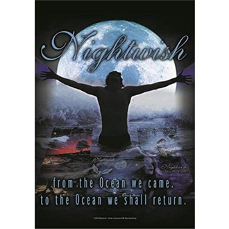 Bandiera Nightwish - From the Ocean…, HEART ROCK, Nightwish