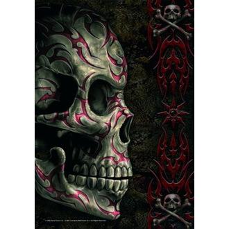Bandiera Spiral - Tatoo Skull, SPIRAL
