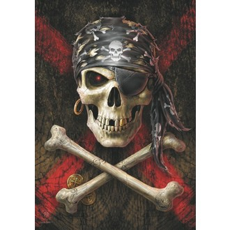 Bandiera Anne Stokes - Pirate Skull, ANNE STOKES