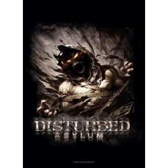 Bandiera Disturbed - Big Fade Asylum, HEART ROCK, Disturbed