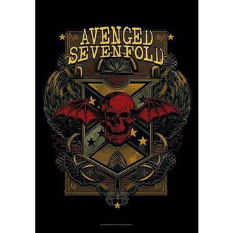 Bandiera Avenged Sevenfold - Death Crest, HEART ROCK, Avenged Sevenfold