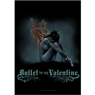 Bandiera Bullet For My Valentine - Burning Wings, HEART ROCK, Bullet For my Valentine