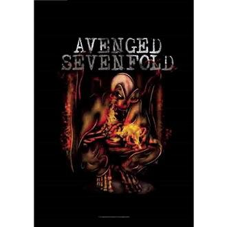 Bandiera Avenged Sevenfold - Fire Bat, HEART ROCK, Avenged Sevenfold