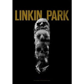 Bandiera Linkin Park - Living - Cranio Totem, HEART ROCK, Linkin Park
