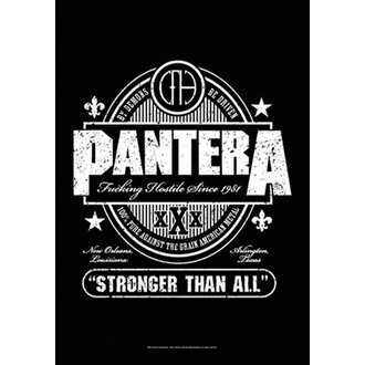 Bandiera Pantera - Beer Label, HEART ROCK, Pantera