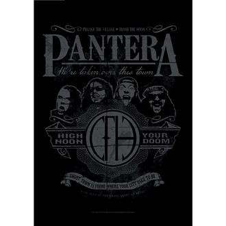 Bandiera Pantera - High Noon Your Doom, HEART ROCK, Pantera