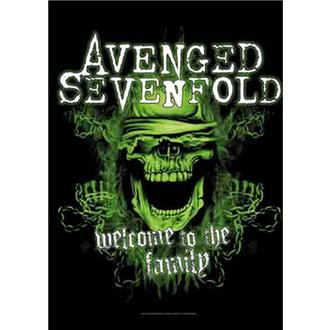 Bandiera Avenged Sevenfold - Welcome to the Family, HEART ROCK, Avenged Sevenfold