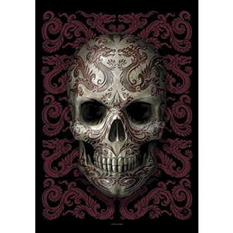 Bandiera Anne Stokes - Oriental Skull, ANNE STOKES