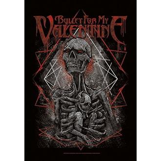 Bandiera Bullet For my Valentine - Skeleton, HEART ROCK, Bullet For my Valentine