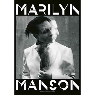 Bandiera Marilyn Manson - Seven Days Binge, HEART ROCK, Marilyn Manson