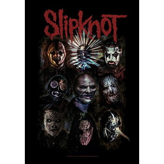 Bandiera Slipknot - Oxidized, HEART ROCK, Slipknot