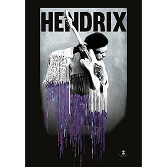 Bandiera Jimi Hendrix - Dripping, HEART ROCK, Jimi Hendrix