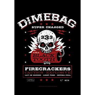 Bandiera Dimebag Darrel - Firecrackers, HEART ROCK, Dimebag Darrell
