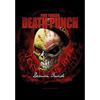 Bandiera Five Finger Death Punch - Dapper, HEART ROCK, Five Finger Death Punch
