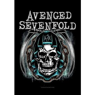 Bandiera Avenged Sevenfold - Holy Reaper, HEART ROCK, Avenged Sevenfold