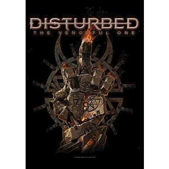 Bandiera Disturbed - The Vengeful One, HEART ROCK, Disturbed