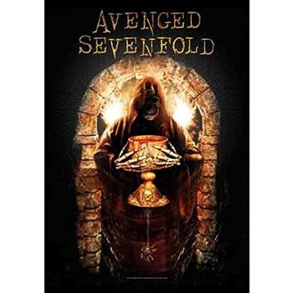 Bandiera Avenged Sevenfold - Golden Arch, HEART ROCK, Avenged Sevenfold