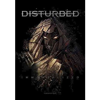 Bandiera Disturbed - Shattered, HEART ROCK, Disturbed