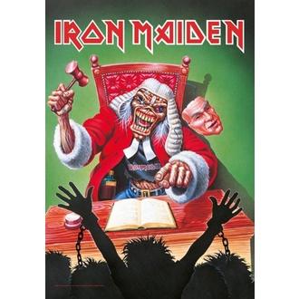 Bandiera Iron Maiden - 10 Years, HEART ROCK, Iron Maiden