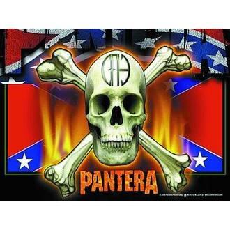 bandiera Pantera - Flag & Skull, HEART ROCK, Pantera