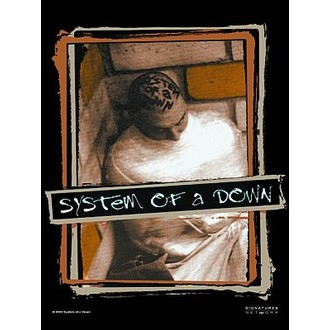 bandiera SOAD., HEART ROCK, System of a Down