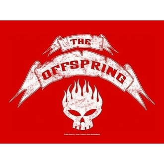 bandiera Offspring - Banner, HEART ROCK, Offspring