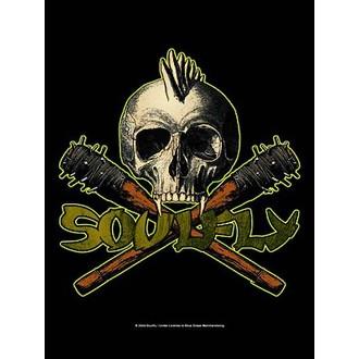 bandiera Soulfly - Skull, HEART ROCK, Soulfly