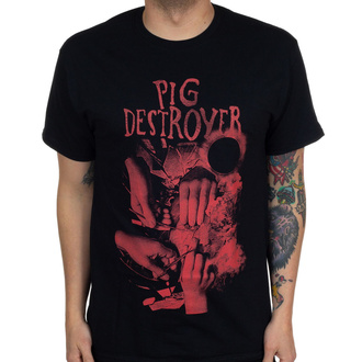 Maglietta da uomo Pig Destroyer - Hands - Nero - INDIEMERCH, INDIEMERCH, Pig Destroyer