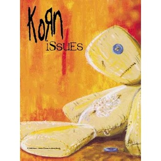 bandiera Korn - Issues, HEART ROCK, Korn