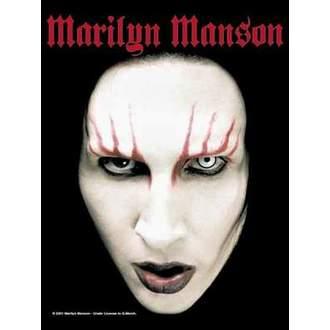 bandiera Marilyn Manson - Head Shot