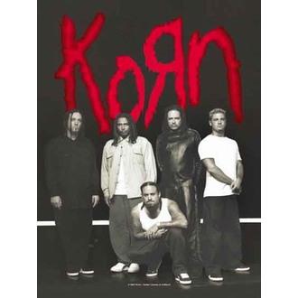 bandiera Korn - Hanger, HEART ROCK, Korn