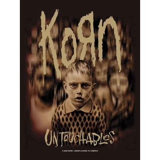 bandiera KORN - Blurry Kids, HEART ROCK, Korn