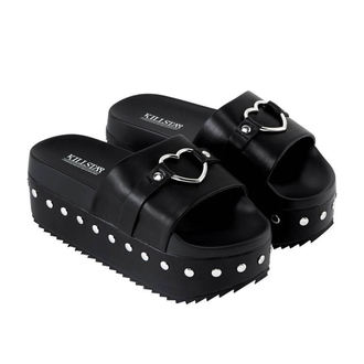 infradito donna - I HEART METAL SLIDES - KILLSTAR, KILLSTAR