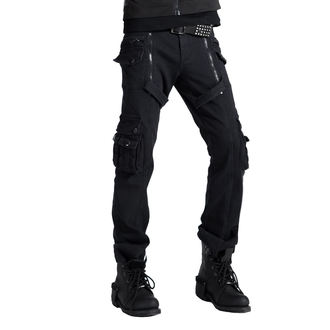 Pantaloni Uomo PUNK RAVE - Black, PUNK RAVE