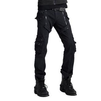 Pantaloni Uomo PUNK RAVE - Black, PUNK RAVE