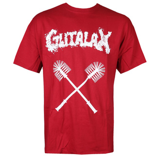 tričko pánské GUTALAX - toilet brushes - cardinal red - ROTTEN ROLL REX, ROTTEN ROLL REX, Gutalax