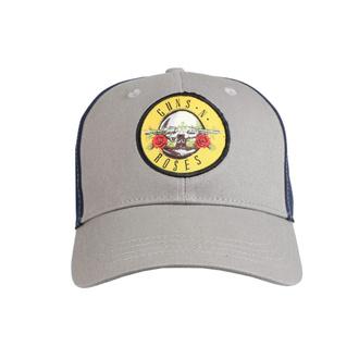 Cappello Guns N' Roses - Logo GRIGIO / BLU NAVY - ROCK OFF, ROCK OFF, Guns N' Roses