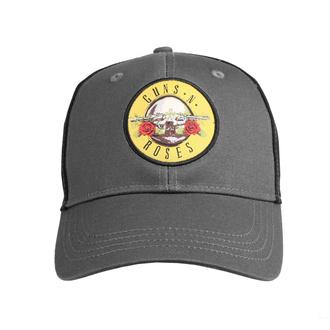 Cappello Guns N' Roses - Circle Logo - CHAR / BL - ROCK OFF, ROCK OFF, Guns N' Roses