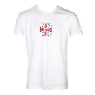 t-shirt uomo - CROSS - West Coast Choppers, West Coast Choppers