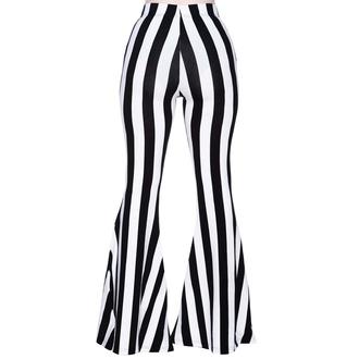 Pantaloni da donna KILLSTAR - Inferno Room Flares - STRISCIA, KILLSTAR