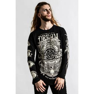 Maglietta da uomo a maniche lunghe KILLSTAR - Insomnia - nero, KILLSTAR