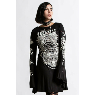Vestito da donna KILLSTAR - Insomnia Trapeze - Nero, KILLSTAR