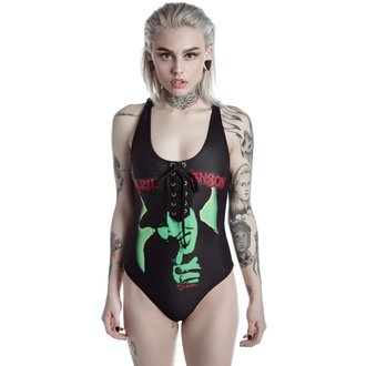 costume da bagno donna KILLSTAR - MARILYN MANSON - I Put A Spell On You - Nero, KILLSTAR, Marilyn Manson