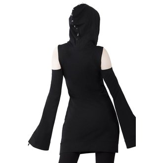 vestito KILLSTAR - Iza Jersey - NERO, KILLSTAR