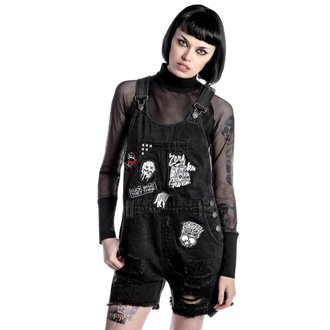 Pantaloncini da donna KILLSTAR - Jinx Cursed Cutie - Nero, KILLSTAR